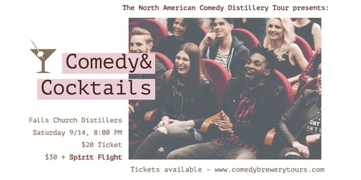 Comedy & Cocktails At Falls Church Distillers