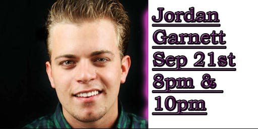 MRBC Comedy Presents: Jordan Garnett!