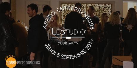Apéro Entrepreneurs Paris @ LeStudio | Jeudi 5 Septembre 2019 billets