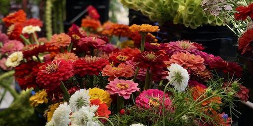 Forever Bloom Farm Dahlias Workshop – Pescadero, CA – 9/21/19, 4:00p-6:30pm
