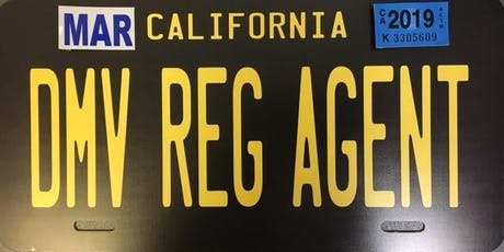 Bakersfield DMV Registration Agent Training tickets