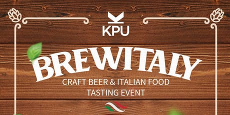 KPU BrewItaly — Craft Beer & Italian Food Tasting Event tickets