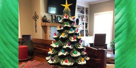 Ceramic Christmas Tree Painting tickets