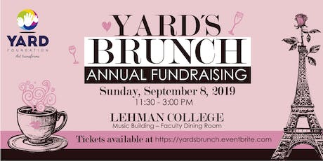 YARD'S BRUNCH ANNUAL FUNDRAISING tickets