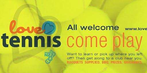 Love Tennis - Come Play - Marlborough Tennis Club Open Days