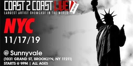 Coast 2 Coast LIVE Artist Showcase NYC, NY - $50K Grand Prize tickets
