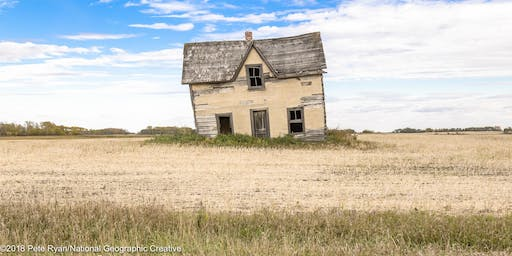 """Photographing """"Abandoned Manitoba""""  SOLD OUT"""