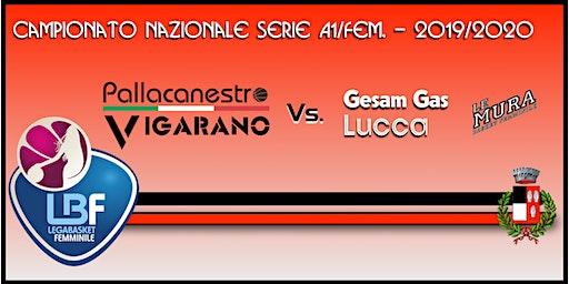 Pallacanestro Vigarano vs Gesam Gas&Luce Lucca