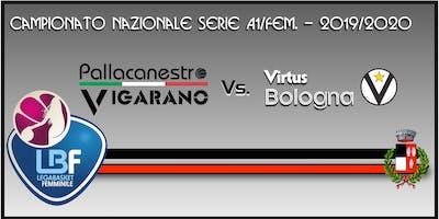 Pallacanestro Vigarano vs Basket x Segafredo Virtus Bologna