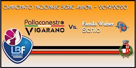 Pallacanestro Vigarano vs Basket x Famila Wuber Schio biglietti
