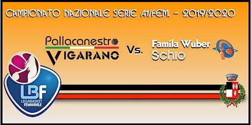 Pallacanestro Vigarano vs Basket x Famila Wuber Schio
