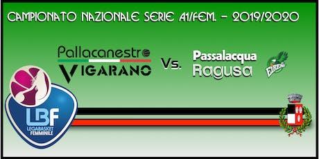 Pallacanestro Vigarano vs Basket x Passalacqua Ragusa tickets