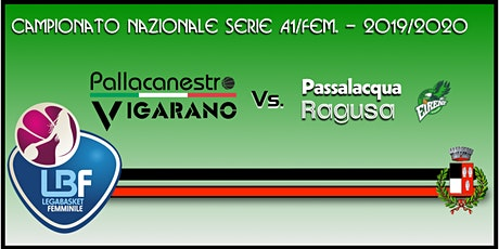 Pallacanestro Vigarano vs Basket x Passalacqua Ragusa biglietti