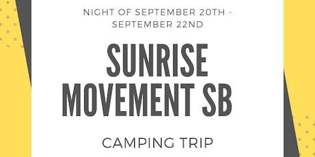 Sunrise SB Camping Trip tickets