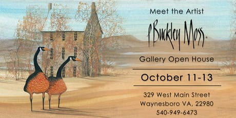 Meet The Artist P Buckley Moss tickets