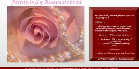 Femininity Rediscovered tickets