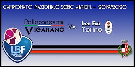 Pallacanestro Vigarano vs Basket x Iren Fixi Torino biglietti