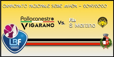 Pallacanestro Vigarano vs Basket x Fila San Martino biglietti