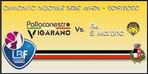 Pallacanestro Vigarano vs Basket x Fila San Martino