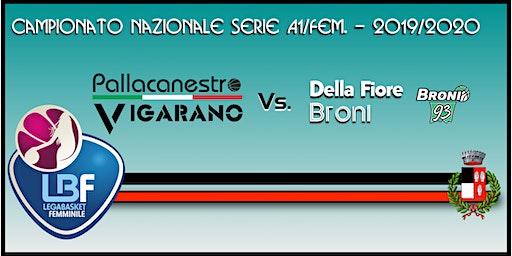 Pallacanestro Vigarano vs Della Fiore Broni