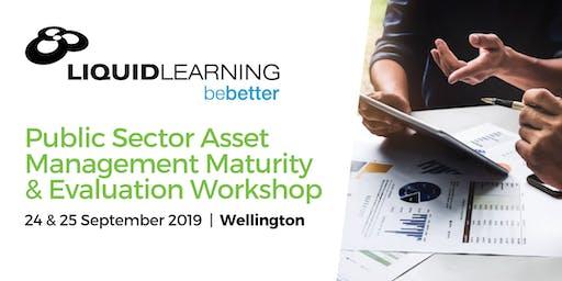 Public Sector Asset Management Maturity & Evaluation Workshop