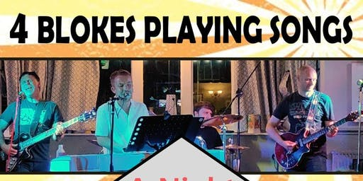 4 Blokes Playing Songs for Andy's Children's Hospice