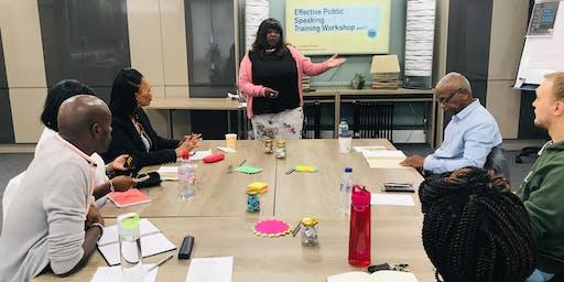 Effective Public Speaking  - Storytelling workshop