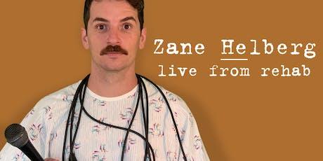 Zane Helberg, live from rehab - Kansas City featuring Jake Marin and Aaron Patrick tickets