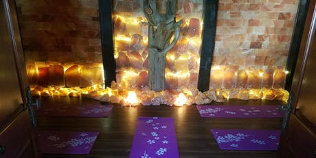 Restorative Yoga in Our Salt Cave tickets