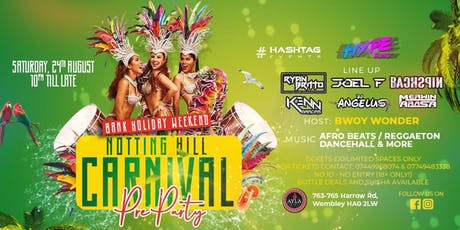 Notting Hill Carnival Pre Party - Saturday 24th Aug tickets