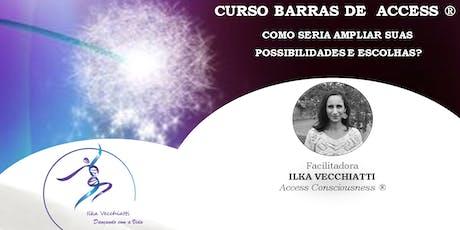 CURSO DE BARRAS DE ACCESS® com Ilka Vecchiatti ingressos