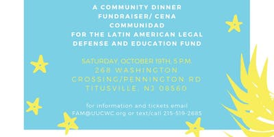 Latin American Legal Defense and Education Fund Community Dinner