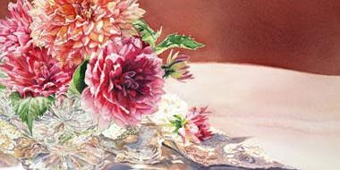 Bright and Beautiful Watercolor Flowers with artist Brenda Kidera