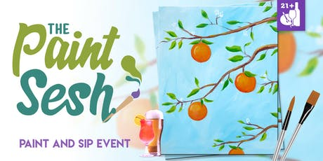 "Paint Night in Riverside, CA - ""Orange Citrus"" tickets"