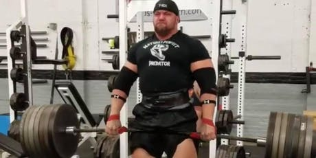 McMillan's Max Deadlift for the Dogs tickets