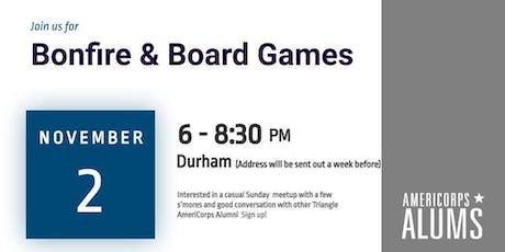 Bonfire & Board Games with AmeriCorps Alums tickets
