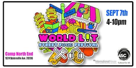 WORLD L!T STREET FOOD FESTIVAL tickets