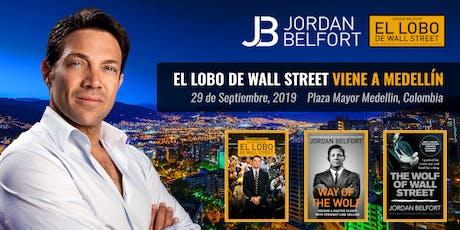 Jordan Belfort: El Lobo En Medellín (Primera Conferencia) entradas