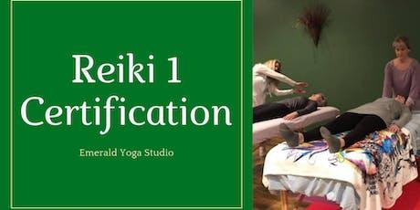 Reiki 1 at Emerald Yoga Studio tickets
