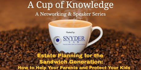Cup of Knowledge Networking & Speaker Series  (August 2019)  tickets