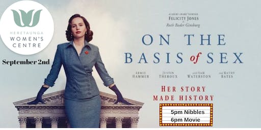 Women's Centre Movie Night - On the Basis of Sex