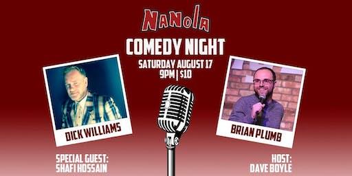 Nanola Comedy Night