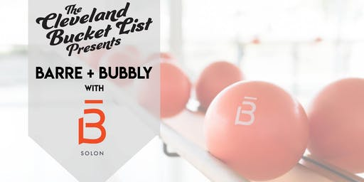 The Cleveland Bucket List X Barre3 Studio Party