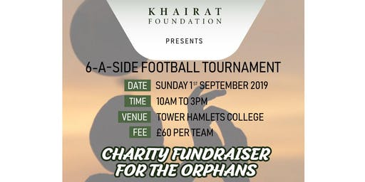 Khairat Foundation Charity Football Tournament