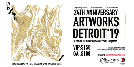 Artworks Detroit 2019 tickets