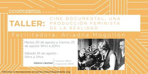 Taller - Cine documental: una producción feminista de la realidad