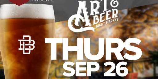 Art & Beer Night Market LA!