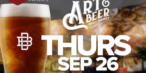 Art & Beer Night Market LA!