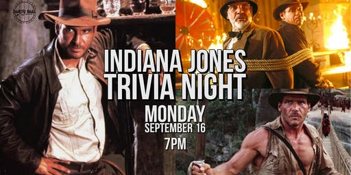 Indiana Jones Trivia Night