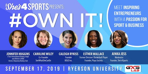 Own It! Meet Women Who Run Things In Business & Sport